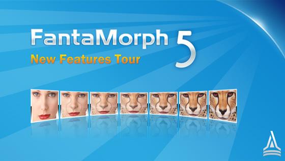 تازه ترین نسخه مبدل تصاویر FantaMorph Deluxe 5.3.8