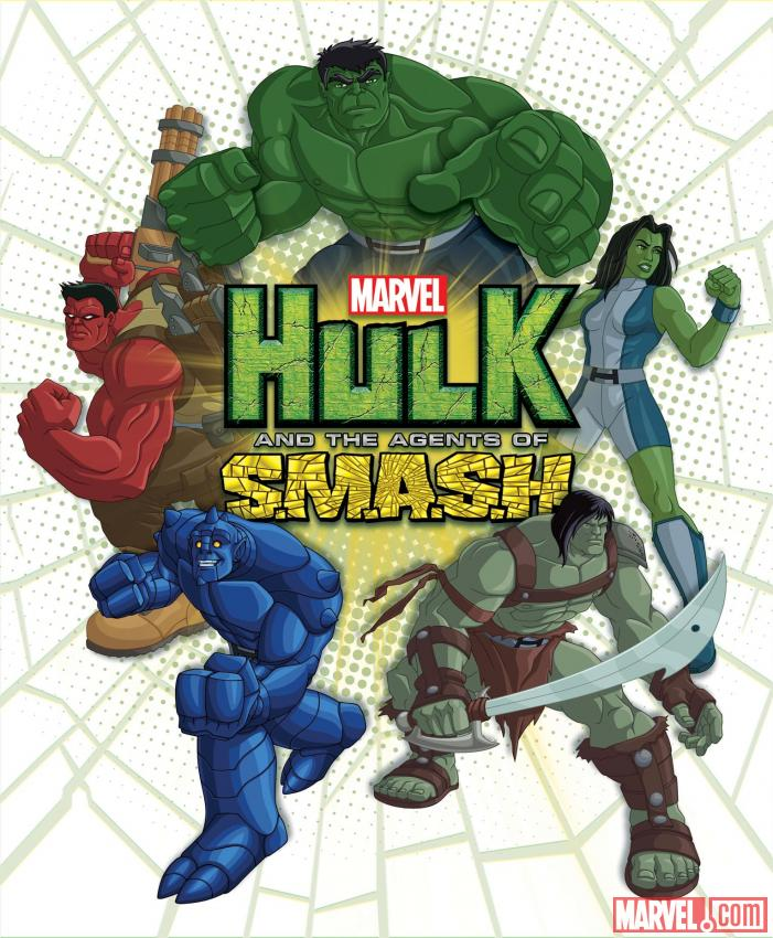 داونلود کارتون جدید هالک Hulk and the Agents of S.M.A.S.H. 2013