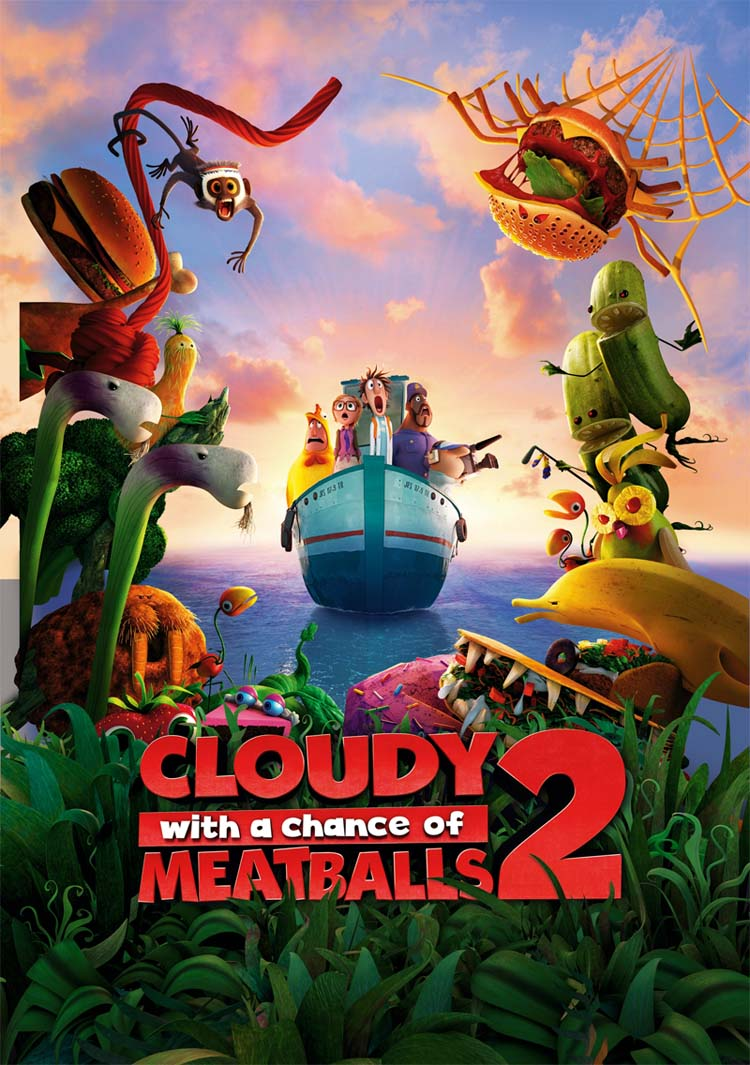 داونلود Cloudy with a Chance of Meatballs 2